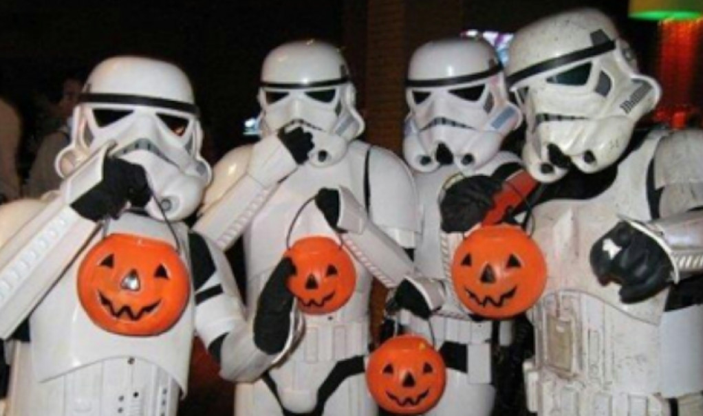 Hold en Star Wars Halloween